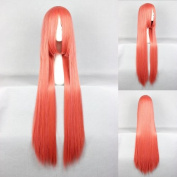 Women's Wig Cosplay Wig Orange 100 cm Straight Touhou Project Hoan Meirin