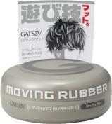 Gatsby Moving Rubber Hair Wax, Grey Grunge Mat