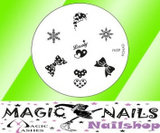 magic Items Konad Stamping Image Plate M59 Nail Art New