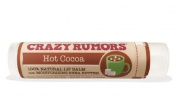100% Natural Lip Balm, Hot Cocoa, 0.15 oz (4.4 ml) - Crazy Rumours - Qty 1