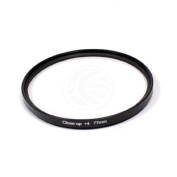 Photography +4 macro filter for 77mm lens - Cablematic