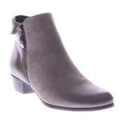 Women's Spring Step Braise Ankle Boot Taupe Leather/Nubuck