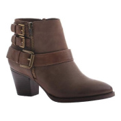 Women's Madeline Girl Sweetie Pie Ankle Boot Chestnut Textile
