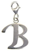 Silver Alphabet charms - packed in a lovely velvet pouch
