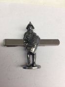 Gladiator WE-RP4 English Pewter emblem on a Tie Clip