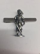 Civil War Figure 1 WE-CP1 English Pewter emblem on a Tie Clip