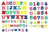 Officeship Magnetic Letters and Number Playset, Education Toy, 82 PCS
