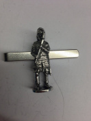 Viking Warriors 2 WE-VP42 English Pewter emblem on a Tie Clip