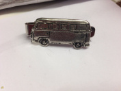 Camper (Side View) PP-T24 English Pewter emblem on a Tie Clip 4cm long