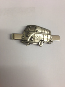 Classic Camper PP-T23 English Pewter emblem on a Tie Clip