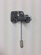 Land Rover Series 1 SWB ref112 Motif on a tie stick pin hat scarf collar coat
