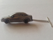 Saab 93 Convertible 1995 3D CAR Tack Tie Pin With Chain ref238