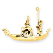 14k Yellow Gold Gondola Charm