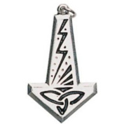 Thor's Hammer Pendant for Courage and Strength