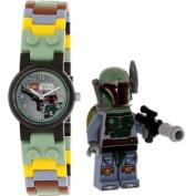 Boy's Star Wars 8020363 Black Plastic Quartz Watch