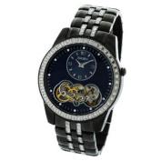 Elgin Men's Watch #FG8085 In Black Crystal Metal Base 45MM Automatic