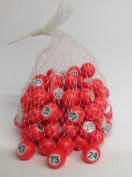 Numbered Bingo Balls Raffle Balls 1-100 Bingo 90 Draw Ball