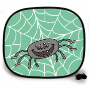 123t ANI-MATES SPIDER PLAIN Baby/Child Vehicle Sunshade x 1