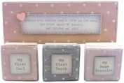 East Of India - Pink Triple Box Set of First Keepsakes
