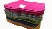 Rainbow COTTON Terry Towelling Cloth Baby Wipes Washable Reusable 25