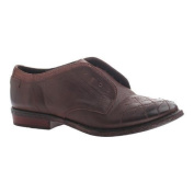 Women's OTBT Thayer Laceless Oxford Dark Brown Leather