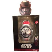 Star Wars Storm Troopers Flashing Lights LCD Watch - White and Red Band