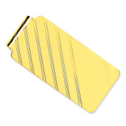 14K Yellow Gold Money Clip Mens Jewellery Polished