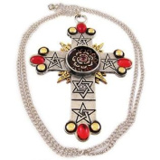 `The Rose Cross` Pendant / Necklace Golden Dawn