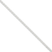 Sterling Silver Wheat Chain - 2.5mm - 20 Inch - Lobster Claw