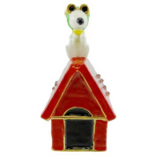 Snoopy Flying Ace Jewelled Box Peanuts Doghouse 97048