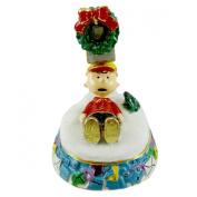 Charlie Brown Mailbox Jewelled Peanuts Christmas 97040