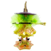 Krinkles Cat Witch Jewelled Box Patience Brewster 39392