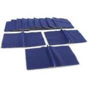 12 Pc Gold Silver Platinum Jewellery Polishing Cloth Set