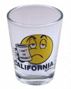California Shotglass- I Don't Do Mornings Case Pack 96