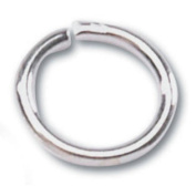 Jewellery Designer Slimpack Silver Metal Findings-7mm Jump Ring 36/Pkg