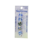 Monet'S Garden Glass Beads Set of 90