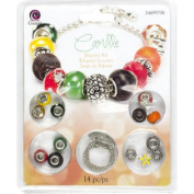 Large Hole Bracelet Kit-Camille 14pcs