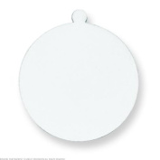 Sterling Silver Round Stamping Disc 0.09cm