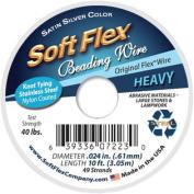 Soft Flex Wire 49-Strand .60cm X 10-Silver