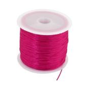 265 Ft 200M Long Fushia Elastic Thread Line Spool for Bead Jewellery