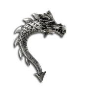 Alchemy Gothic Gothic Tor Dragon Double Sided Stud Earring