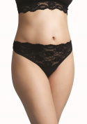 Carriwell Lace Stretch Panties, Black, XL