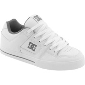 Men's DC Shoes Pure White/Battleship/White