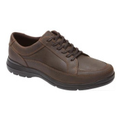 Men's Rockport Cityplay Two Lace To Toe Dark Brown Leather