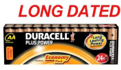 24x DURACELL Plus Power MN1500 AA Batteries Long-Dated