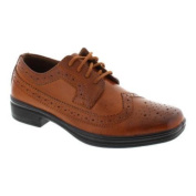 Boys' Deer Stags Ace Wing Tip Oxford Luggage