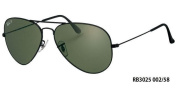 Ray-Ban RB3025 Aviator Polarised Unisex Sunglasses