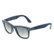 Ray-Ban RB2140 Blue Jeans Frame Grey Gradient Lens Wayfarer Sunglasses