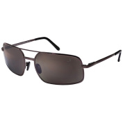 Xezo Mens Air Commando Titanium Polarised Sunglasses