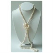 100 Inches Freshwater Cultured Pearl Strand Necklace